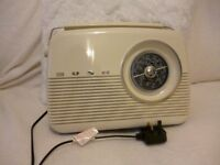 retro looking bush radio