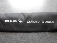 4 Chub Outkast carp rods 2.5 tc brand new