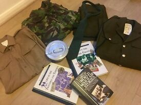 BARGAIN! Army Clothing Vintage Bundle Full No2 Uniform - Whitefield Manchester