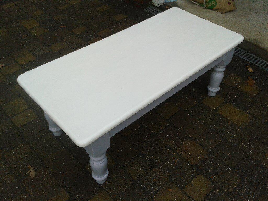 coffee table white/grey