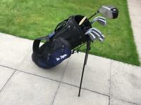 Golf clubs full set of Ben Sayers irons 4-PW, driver, Putter & Bag