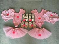 Ballet wear for approx. 2-4 year old