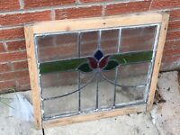 Stained glass window sashes for sale