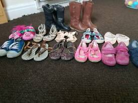 job lot girls shoes/boots