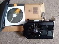 Nvidia GeForce GTX 650Ti Brand:PALiT Memory:1GB