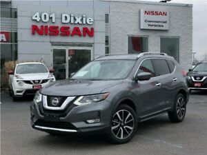 2017 Nissan Rogue SL AWD| LEATHER| NAVI| 360 CAMERA| BSW