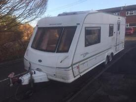 2002 Bessacarr Cameo 550gl with full awning and air conditioning