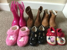Girls Shoe Bundle Size 6