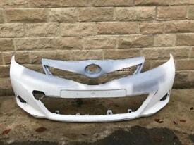 Genuine Toyota Yaris Front Bumper 2011-2014
