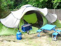 Quechua 6 man pop up base tent