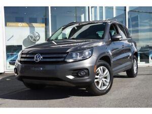 2015 Volkswagen Tiguan ** MANUELLE RARE ** A/C * SIEGES CHAUFF *