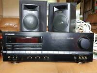 Pioneer amp with free speakers