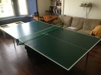 Full size Ping Pong table in Glasgow West End