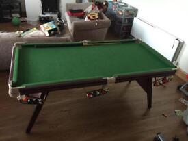 6x3 riley snooker table