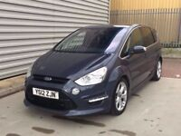 2012 Ford S-Max 2.0 TDCi Titanium X Sport 5dr DIESEL***TOP OF RANGE TIT X SPORT**ONE COMPANY OWNER