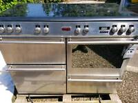 Range cooker gas electric