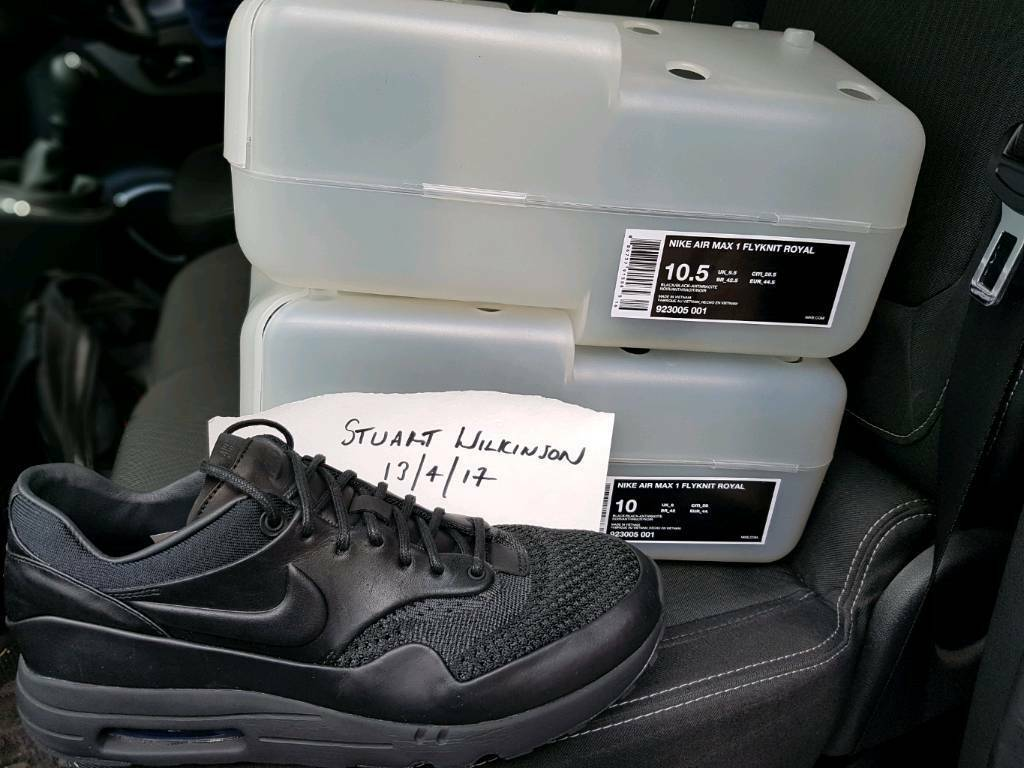 new product 7f901 513d9 ... wholesale nike lab x arthur huang air max 1 flyknit royal 3964e 5d2e2