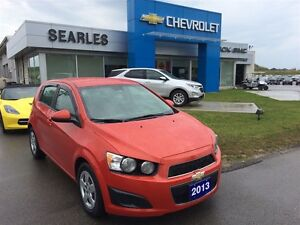 2013 Chevrolet Sonic Inferno Orange Auto/Air