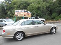 Jaguar S-Type V6 SE 2.5CC Petrol Automatic Saloon! With 12 Months MOT! Full Leather Interior