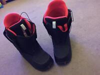 Burton Moto snowboard boot.