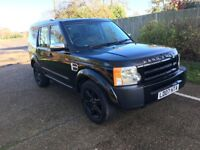 2007 LAND ROVER DISCOVERY 3 2.7 DIESEL AUTO FULL BLACK LEATHERS 119 000 MILES