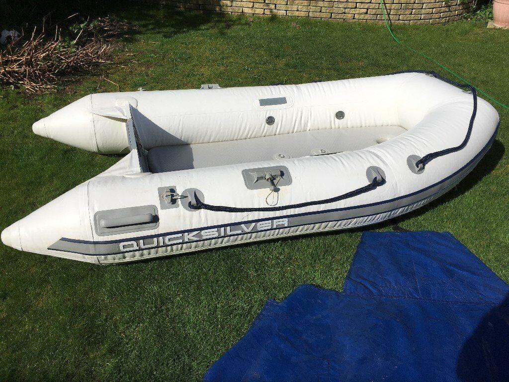 Quicksilver Inflatable Dinghy Boat 2 7m In Chelmsford
