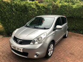 Nissan note automatic