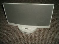 Bose docking station for ipod white working ok no power supply