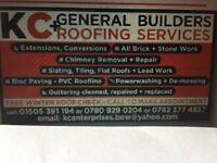 KC Enterprises General Builder&Roofing services