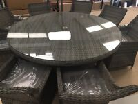 Rattan Garden Furniture Sofa set Table and Chairs