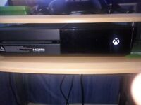 xbox one with controller and turtle headset