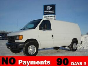 2007 Ford E-250 Commercial Cargo Van