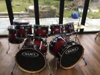 9 Piece Drum Kit - Mapex 6 Series - M Birch