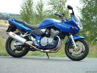 Suzuki Bandit GSF 600 - BREAKING