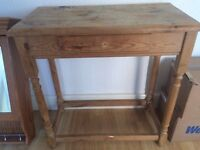 @@LOVELY LARGE PINE SIDE COFFEE TABLE FOR UPCYCLING@@