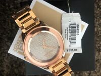 Genuine Micheal Kors Rose Gold Watch