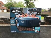 Lay Z Spa Milan 6 Person Hot Tub WiFi Controlled Airjet Plus NEW CAN DELIVER