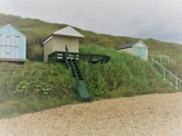 BEACH HUT at Hordle Cliff, Milford-on-Sea. FOR SALE