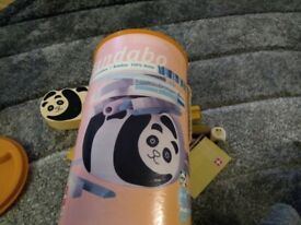 HaPe Pandabo Bamboo Stacking Game