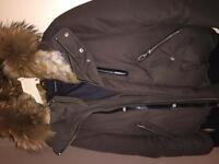Mackage Dixon-F4 Khaki Bomber jacket