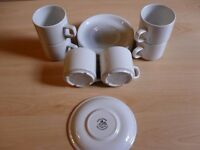 CUPS AND SAUCERS (CHURCHILL)