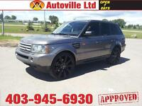 """2007 RANGE ROVER SPORT SUPERCHARGED 24"""" rims $26488"""