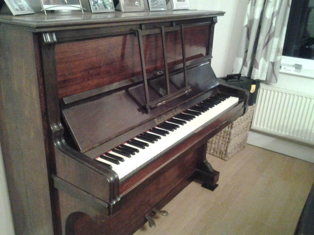lovely upright piano circa 1904 rud ibach sohn in east grinstead west sussex gumtree. Black Bedroom Furniture Sets. Home Design Ideas