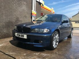 BMW E46 320D SE with Private Plate