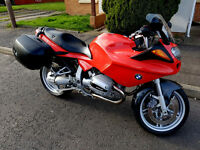 BMW R1100S, Only 18k Miles, 12 Months MOT, BMW Panniers, Excellent condition