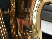Jupiter Alto Saxophone. In very good condition. Used by my daughter but no longer required.