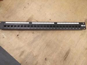 Tripp Lite Rackmount Cat5e 110 Patch Panel, 568B, RJ45 Ethernet - Patch N052-024