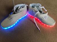 Light up trainers ladies size 7