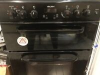 Gas cooker for sale with electric oven great condition