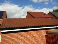 Terracotta Marley Mendip roof tiles